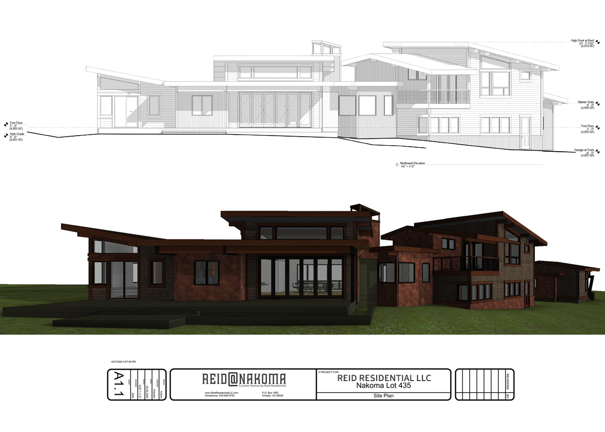 Lot 435 Elevation Back